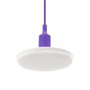 Żyrandol led ALBENE 18W 230V WW PURPLE