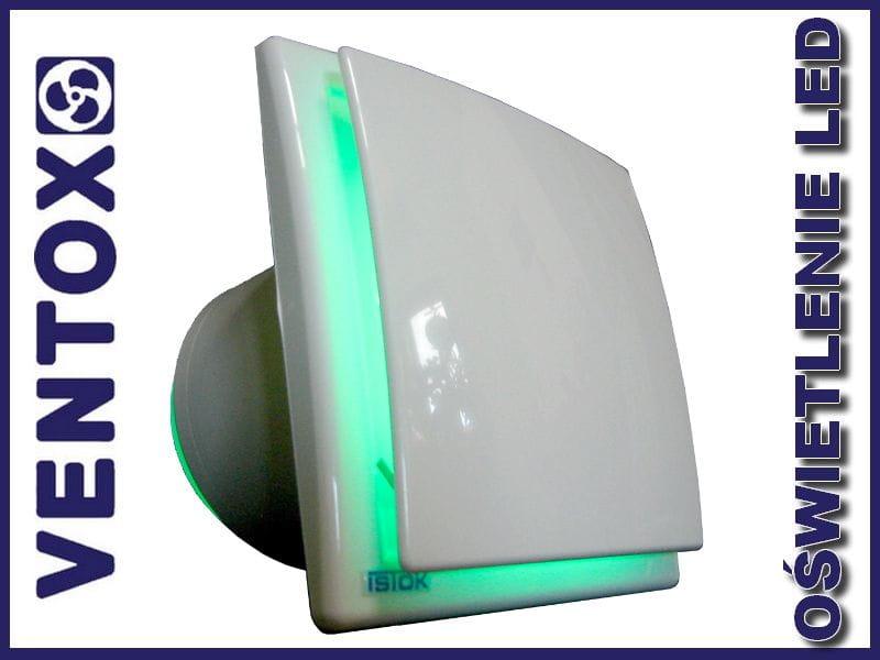 Wentylator łazienkowy Z Oświetleniem Led Ok Green Light 100